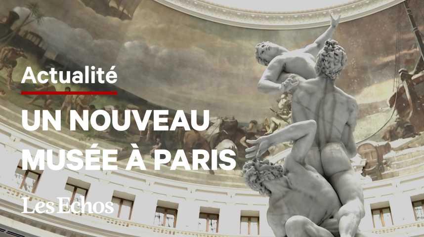 Illustration pour la vidéo À la découverte de la Collection Pinault, à la Bourse de Commerce