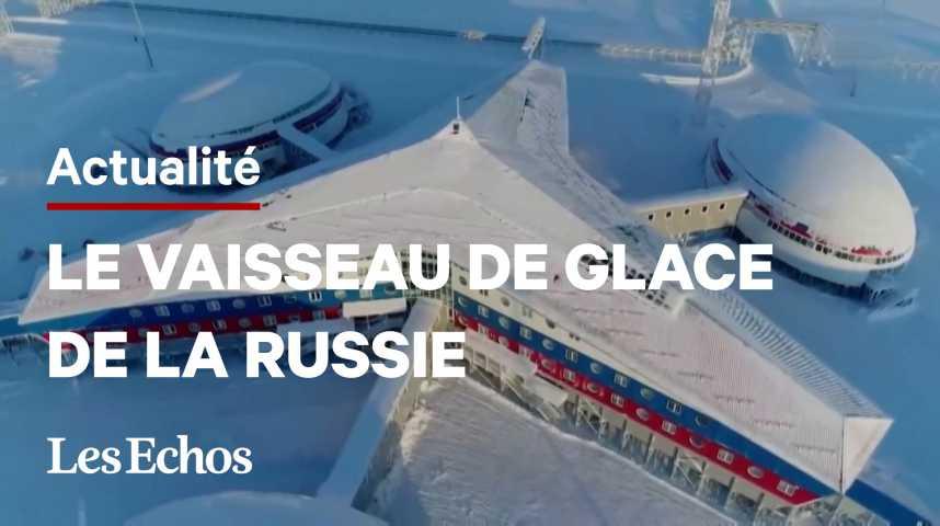 Illustration pour la vidéo Dans l'Arctique, la Russie affiche sa base militaire modèle face à l'Otan