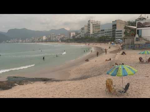Rio's beaches reopen after weeks of closure due to Covid-19