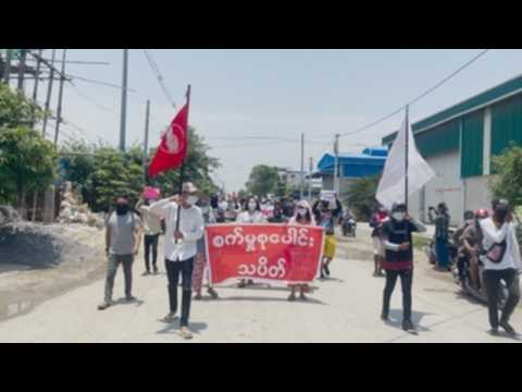 Protesters stage another anti-coup rally in Mandalay after junta refuses ASEAN envoy visit
