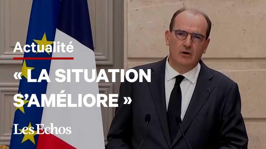 Illustration pour la vidéo Emmanuel Macron présentera vendredi «les perspectives» du déconfinement, annonce Jean Castex