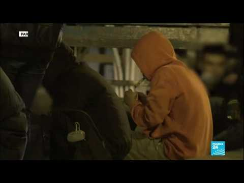 """Paris: some residents living """"hell"""" because of crack addicts"""