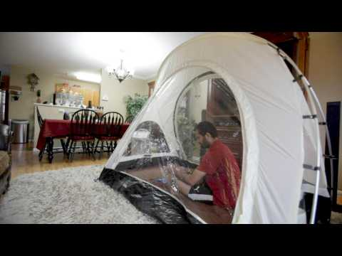 Mountaineer simulates high-altitudes at home to avoid Covid-19 in Nepal