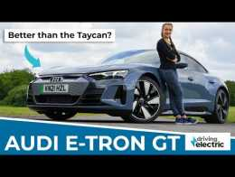 New 2021 Audi e-tron GT review: the four-door electric supercar – DrivingElectric