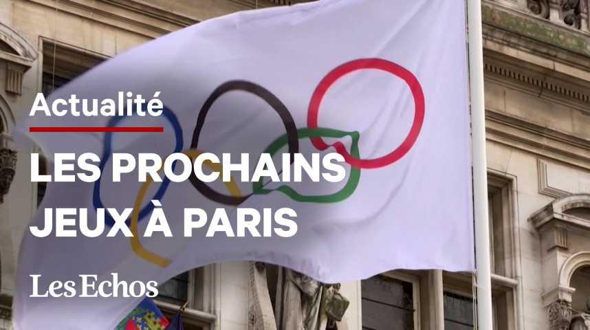 Illustration pour la vidéo « Les Jeux Olympiques de 2024 à Paris sont un investissement », déclare Anne Hidalgo
