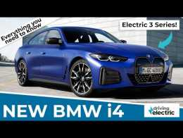 New 2021 BMW i4 electric car –all you need to know – DrivingElectric