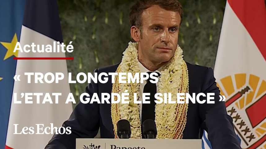 Illustration pour la vidéo Essais nucléaires : la France reconnaît «une dette» envers la Polynésie française
