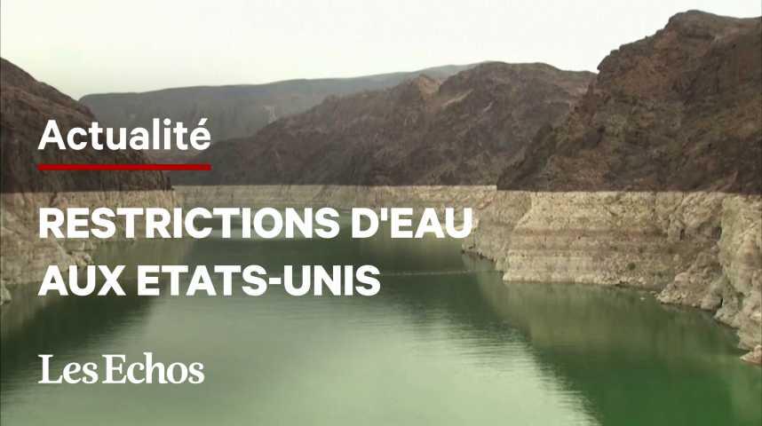 Illustration pour la vidéo Sécheresse dans l'Ouest américain : des restrictions d'eau historiques dans le bassin du Colorado
