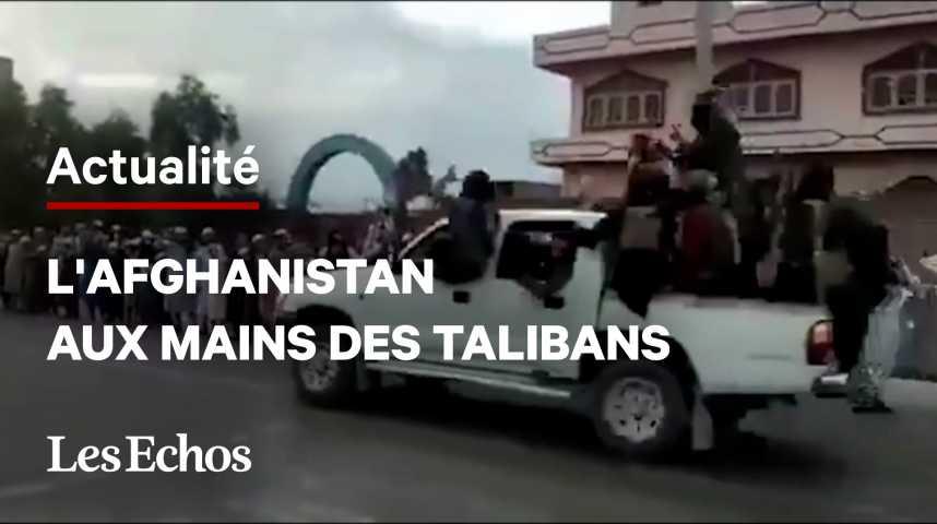 Illustration pour la vidéo L'Afghanistan aux mains des talibans, panique à Kaboul
