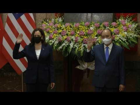 US Vice President Kamala Harris puts pressure on China over maritime 'bullying'