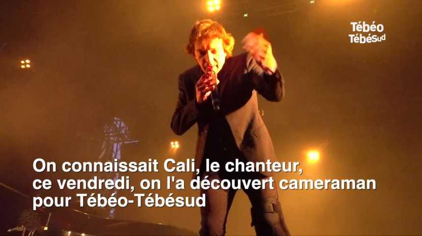Thumbnail Cali, chanteur et caméraman pour Tébéo-Tébésud
