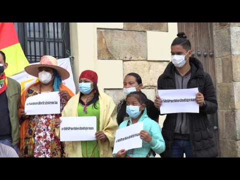 A hunger strike to demand measures for a poor region of Colombia