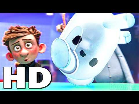 """RON'S GONE WRONG """"Ron Dances"""" Movie Clip (Animation, 2021)"""