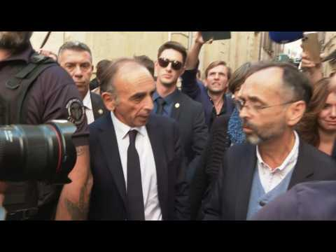 France: Eric Zemmour in Béziers, at the invitation of Mayor Robert Ménard