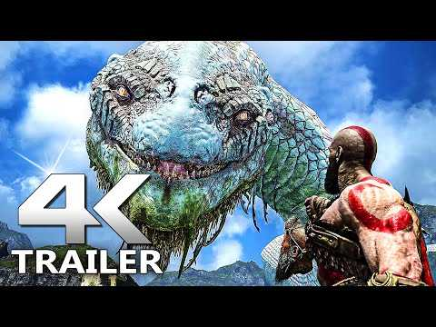 GOD OF WAR Announce Trailer 4K (2022) PC