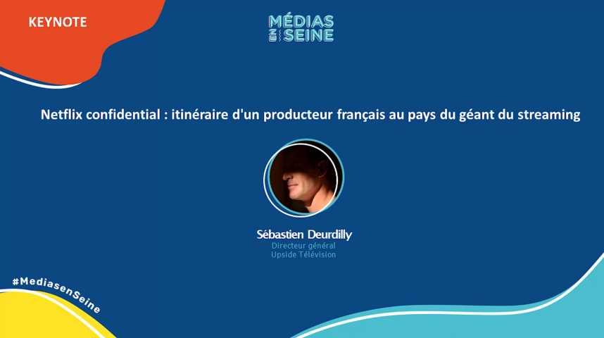 Illustration pour la vidéo Netflix confidential : itinéraire d'un producteur français au pays du géant du streaming