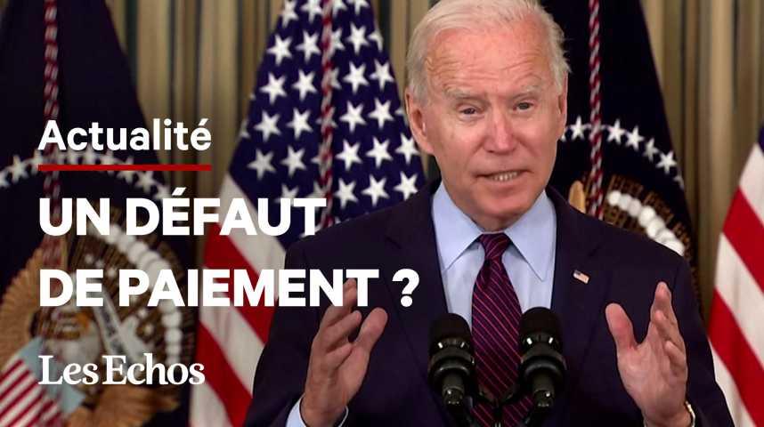 Illustration pour la vidéo Plafond de la dette : Joe Biden accentue la pression sur les Républicains