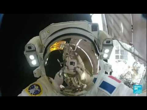 French astronaut Thomas Pesquet takes over command of ISS
