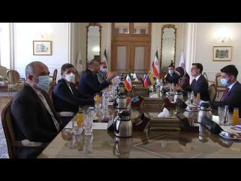 Iran and Venezuela 20 years strategic cooperation plan
