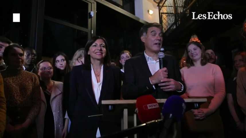 Illustration pour la vidéo Anne Hidalgo officiellement investie par le PS comme candidate à la présidentielle