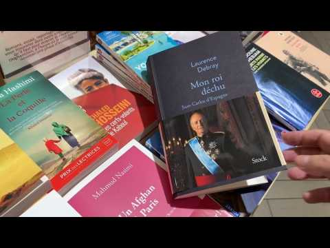 A book about Spanish King emeritus Juan Carlos I goes on sale in France