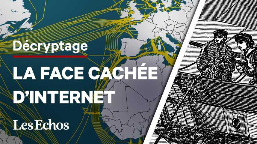 Illustration pour la vidéo L'incroyable histoire des câbles sous-marins : des télégraphes à Internet
