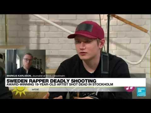 Swedish rapper shot dead, stoking outrage over gang violence