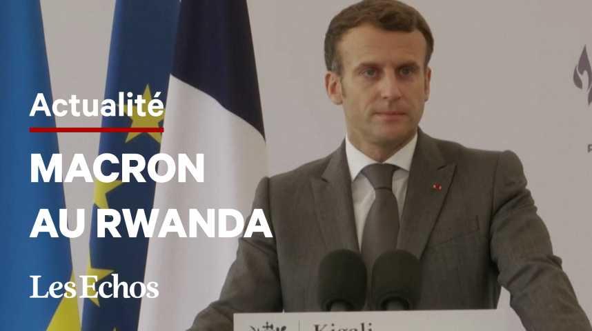 Illustration pour la vidéo Macron au Rwanda: « Je viens reconnaître nos responsabilités » dans le génocide de 1994