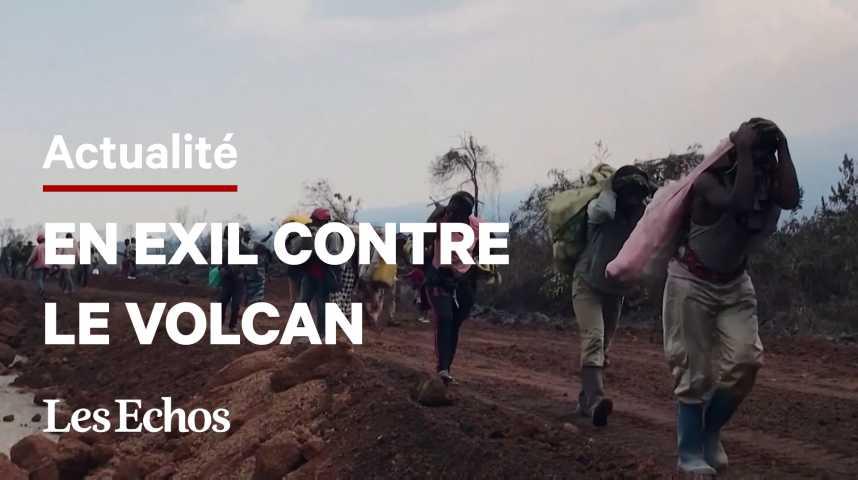 Illustration pour la vidéo En République Démocratique du Congo, des milliers d'habitants évacués face au risque d'éruption d'un volcan