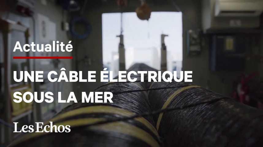 Illustration pour la vidéo Un câble sous-marin géant entre l'Allemagne et la Norvège pour verdir l'électricité