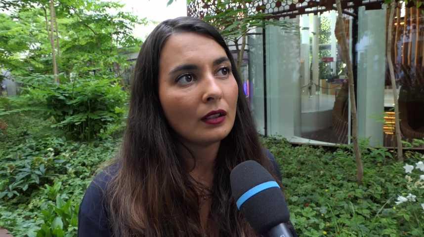 Illustration pour la vidéo Armonie Bellepeau Crochet, cofondatrice B.LIV Champagne sur Go Entrepreneurs Paris 2021