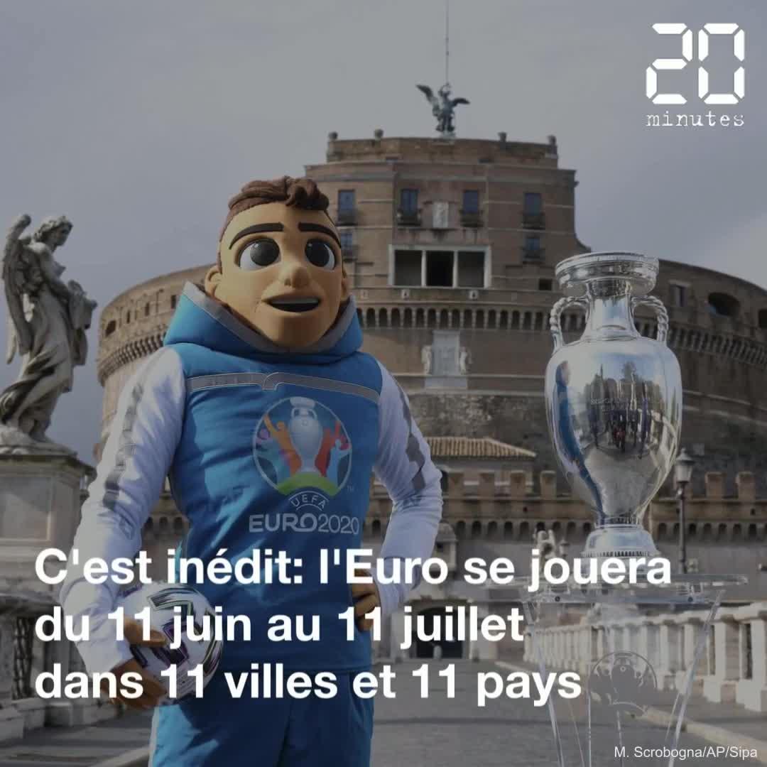 Euro 2021: Une compétition inédite organisée dans 11 villes, de Séville à Bakou