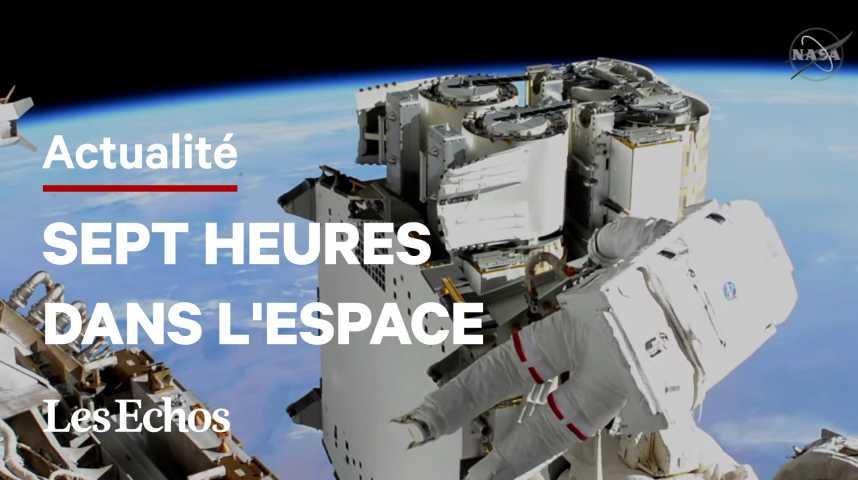 Illustration pour la vidéo ISS : mission inachevée pour Thomas Pesquet après un problème technique