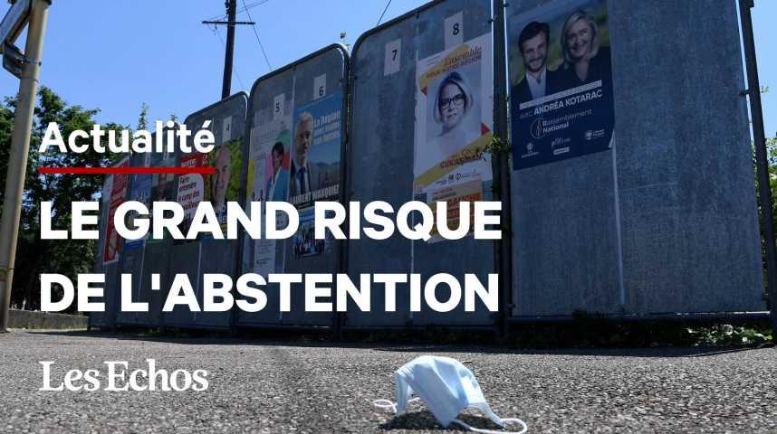 Illustration pour la vidéo Elections régionales : vers une abstention record
