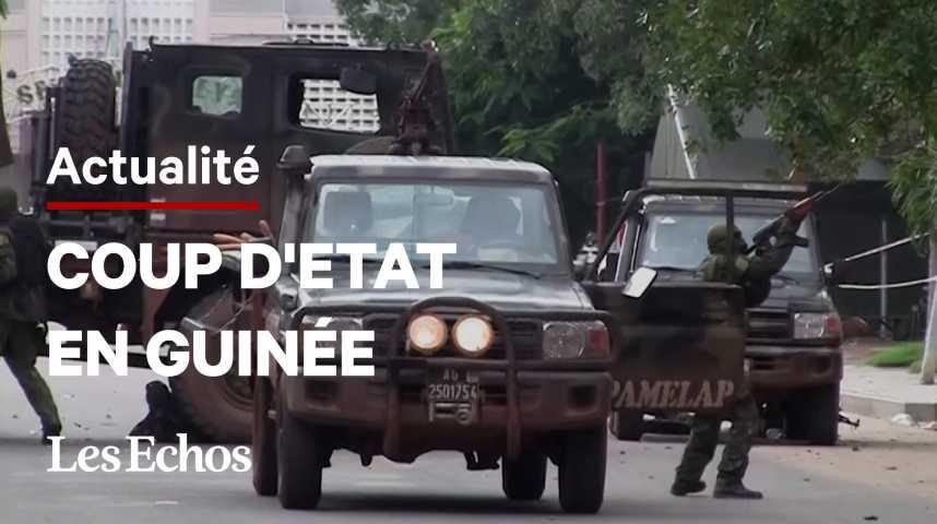 Illustration pour la vidéo Coup d'Etat en Guinée : les putschistes cherchent à rassurer