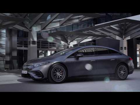 The new Mercedes-AMG EQS 53 4MATIC+ Design Preview