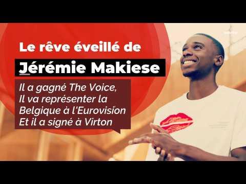 VIDEO : Jeremie Makiese représentera la Belgique à l'Eurovision :