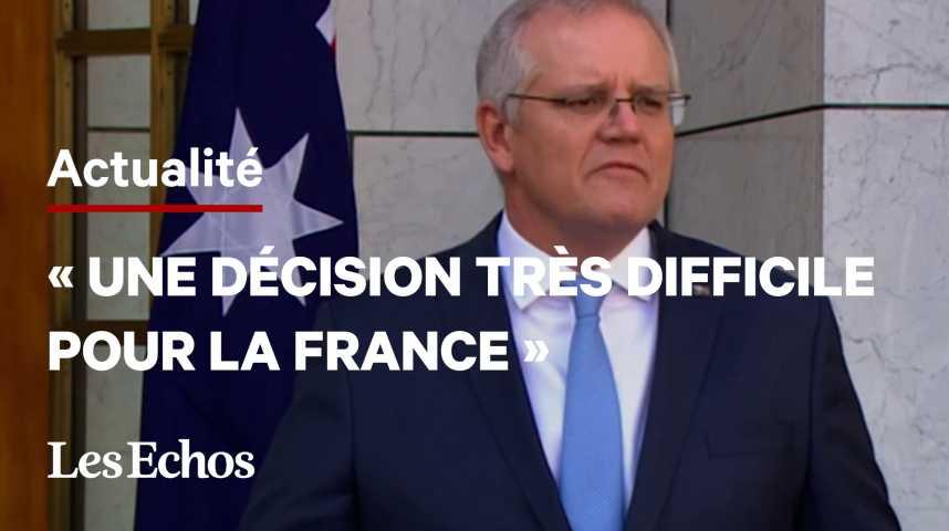 Illustration pour la vidéo «La France reste un partenaire important» dans le Pacifique, annonce le premier ministre australien
