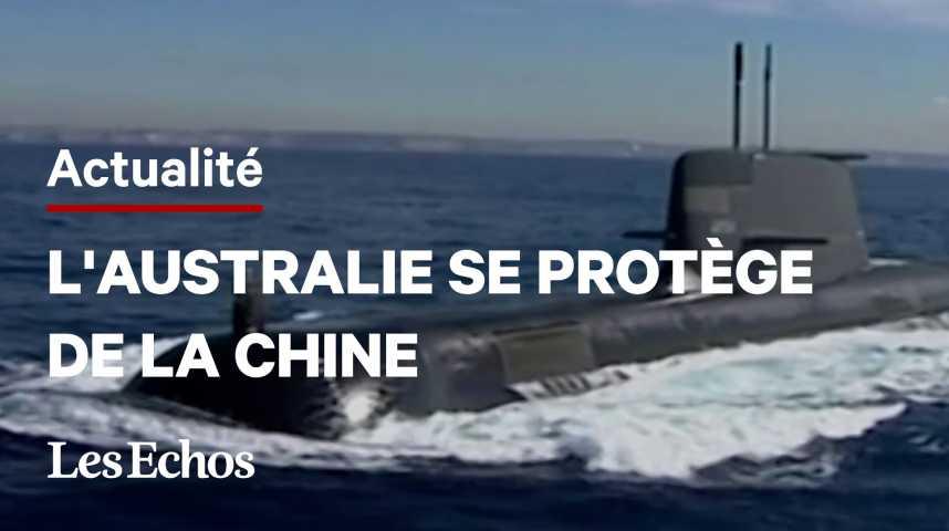 Illustration pour la vidéo Pourquoi l'Australie met brusquement fin au «contrat du siècle» de 12 sous-marins français