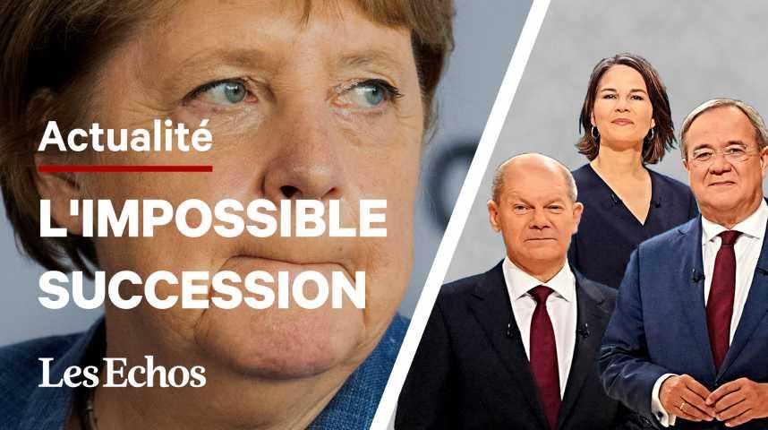 Illustration pour la vidéo Angela Merkel : qui sont les 3 principaux candidats à sa succession ?