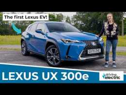 New 2021 Lexus UX 300e electric SUV review – DrivingElectric