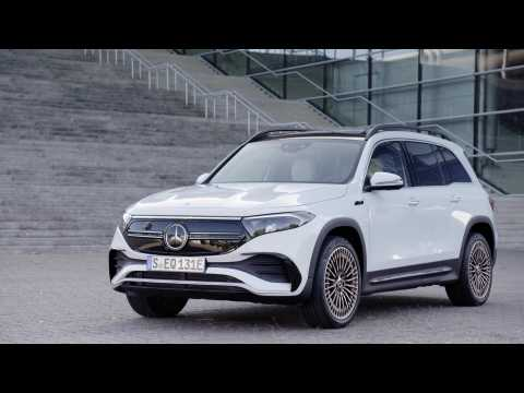 The new Mercedes-Benz EQB EDITION 1 Exterior Design