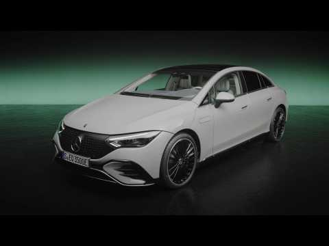 The new Mercedes-Benz EQE 350 Edition 1 Design Preview in Studio