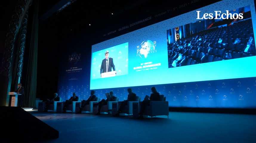 Illustration pour la vidéo La 14ème édition de la World Policy Conference s'est ouverte à Abou Dabi