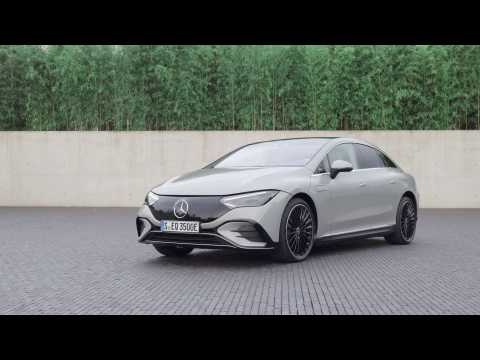 The new Mercedes-Benz EQE 350 Edition 1 Design Preview