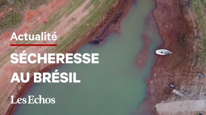 Illustration pour la vidéo La sécheresse menace le Brésil d'une pénurie d'électricité