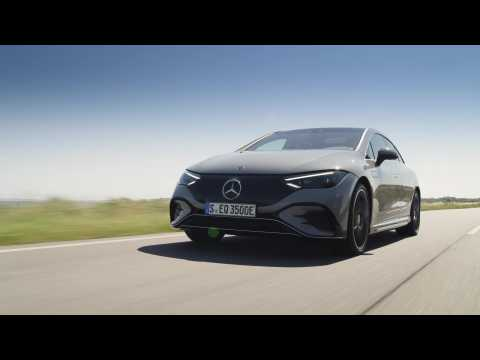 The new Mercedes-Benz EQE 350 Edition 1 Driving Preview