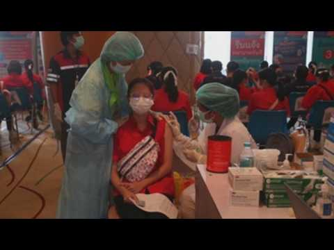 Thailand begins COVID-19 vaccination drive for students aged 10-18 years old