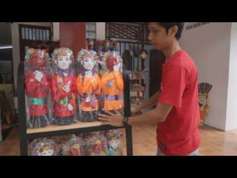 Indonesian traditional masks sales increase by 20% after gov't eases COVID-19 restrictions