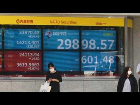 Nikkei falls 2.17% following concerns over Evergrande crisis